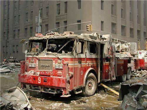 Dan Rowan's firetruck