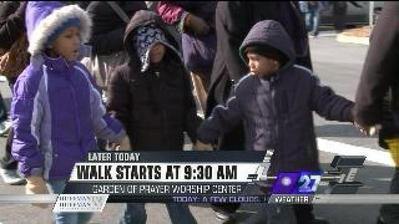 Martin Luther King Jr. walk and ceremony in Norfolk