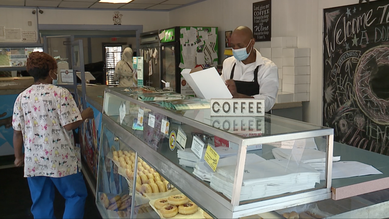 Community rallies around Cleveland family-owned donut shop struggling during pandemic