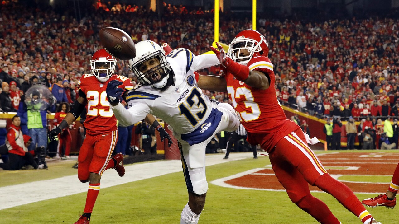 Los Angeles Chargers v Kansas City Chiefs Kendall Fuller