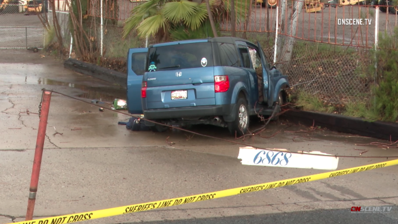 Woman found dead in apparent single-car wreck