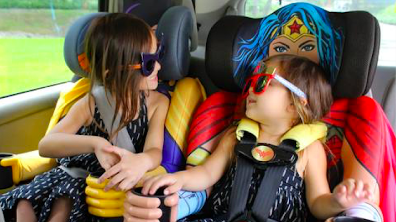 You can get $56 off Superhero and Disney booster car seats right now