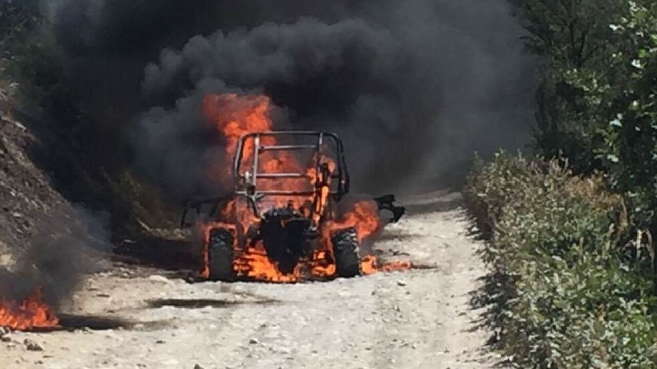Three injured in UTV explosion; fire prompts evacuations in American ForkCanyon