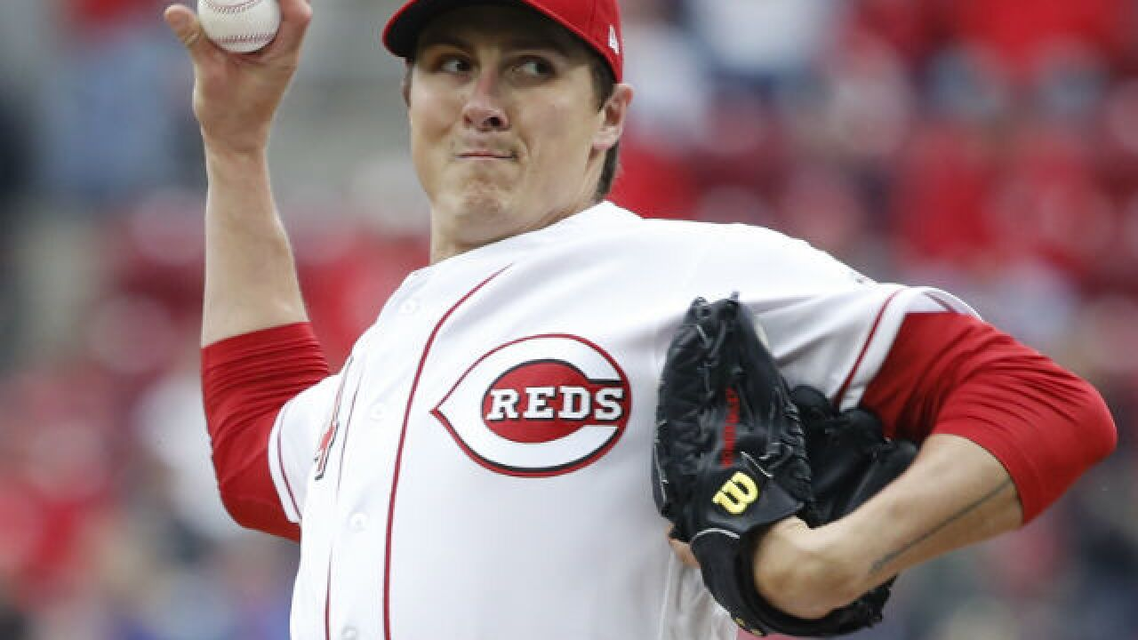 Reds put struggling Homer Bailey on disabled list