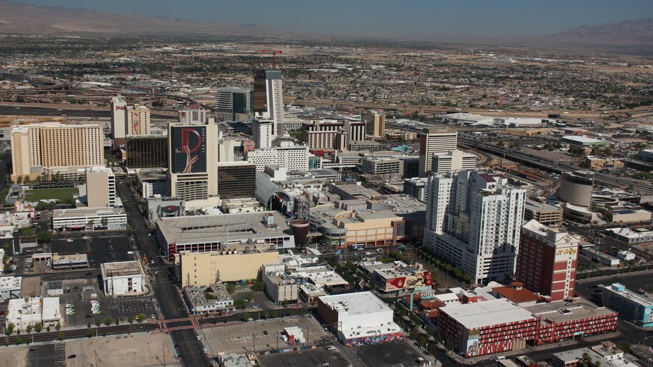 Downtown Las Vegas scenic