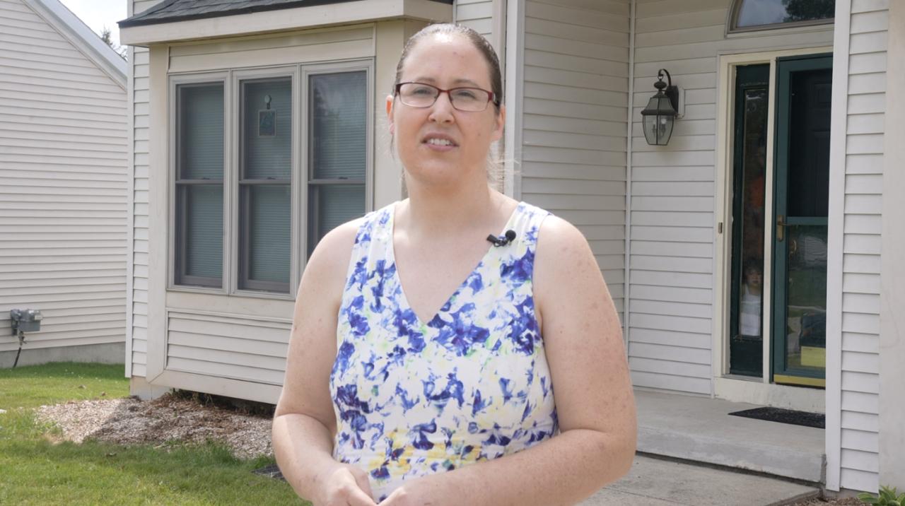 Abby Lorenzen, mother of six in DeWitt