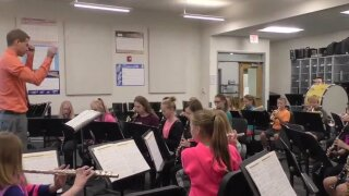 Monforton Middle School awarded One Class At A Time check