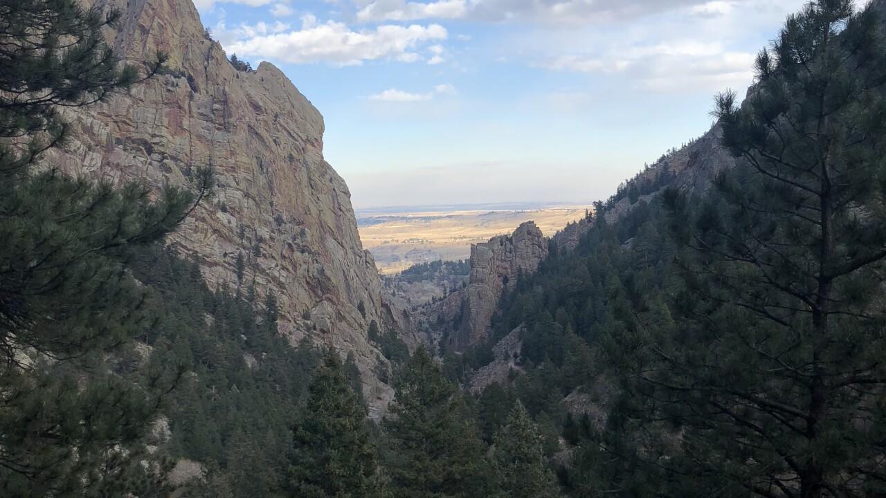 Eldorado Canyon Trail