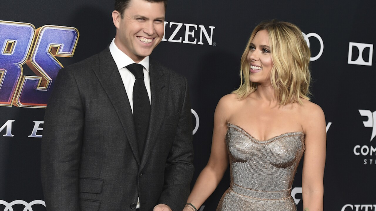 Scarlett Johansson, Colin Jost marry in private ceremony