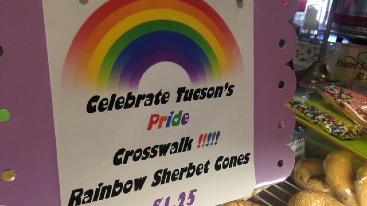 Bold & Bright: Rainbow crosswalks installed...