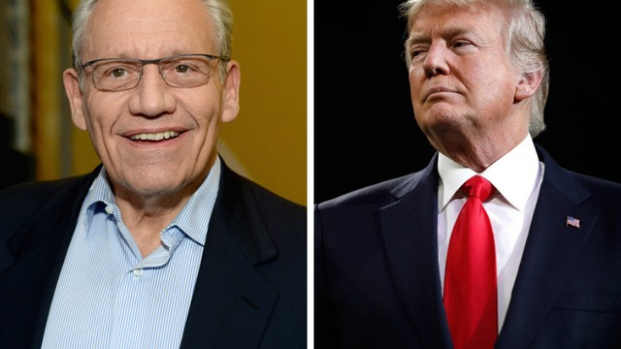 Phone recording: Bob Woodward spoke to Trump about upcoming book