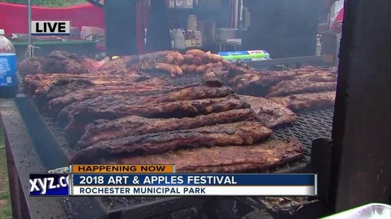 2018 Art & Apples Festival