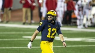 Michigan Football Cade McNamara