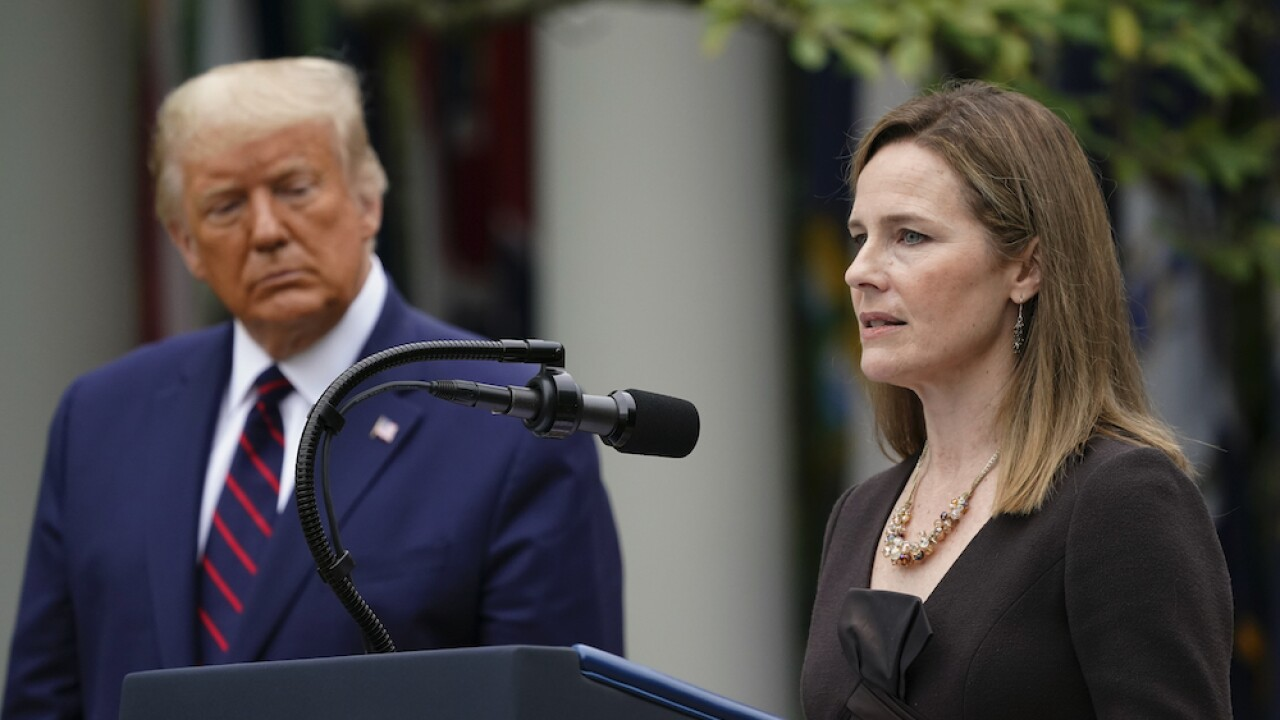 Supreme Court nominee Amy Coney Barrett contracted COVID-19 this summer, reports say