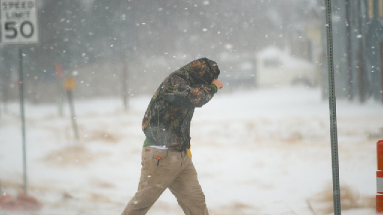 Tips for staying healthy during a snowstorm