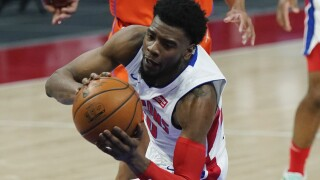 Josh Jackson Thunder Pistons Basketball