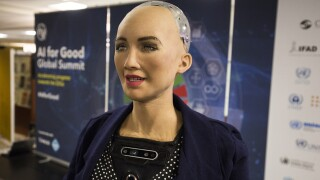 Meet Sophia: The robot who laughs, smiles and frowns just like us