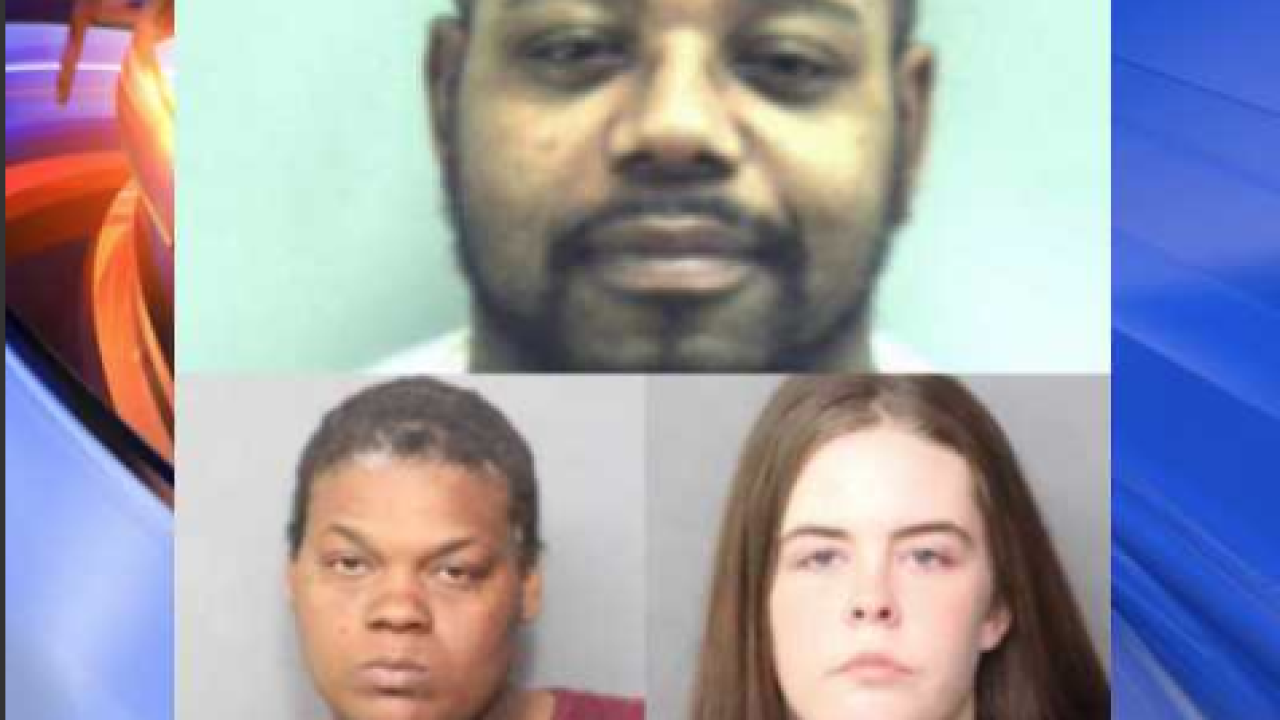 2 Norfolk women accused of having sex with dog while communicating with inmate injail
