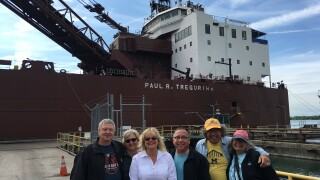 Raffle tickets on sale for 5-day trip on a Great Lakes freighter