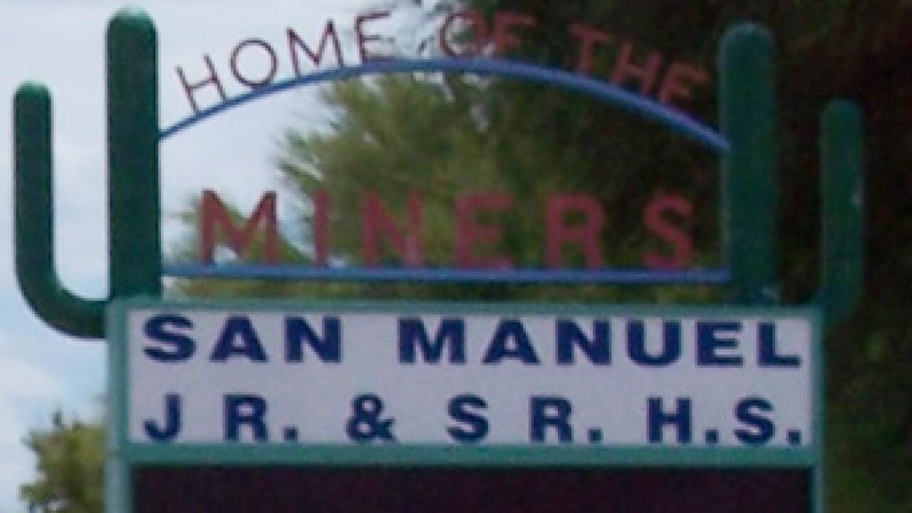 Mammoth-San Manuel PK-12 School was evacuated Thursday due to a threat.
