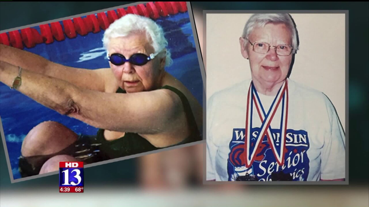 Booming Forward: Going for gold in her goldenyears