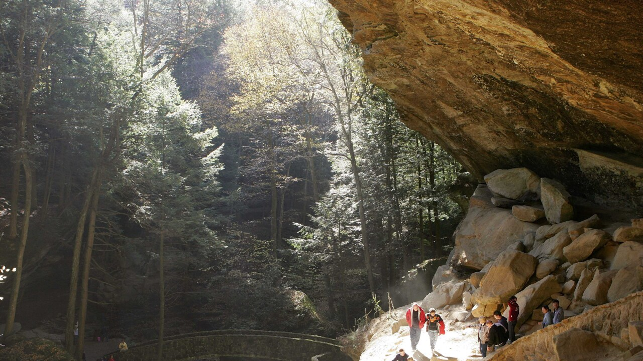 Hocking Hills Old Man's caves