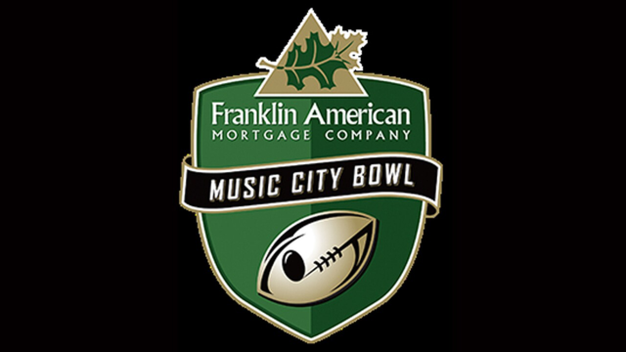 Auburn, Purdue to face off in Music City Bowl