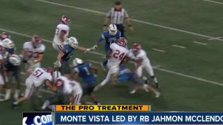 The Pro Treatment to feature Monte Vista High this week