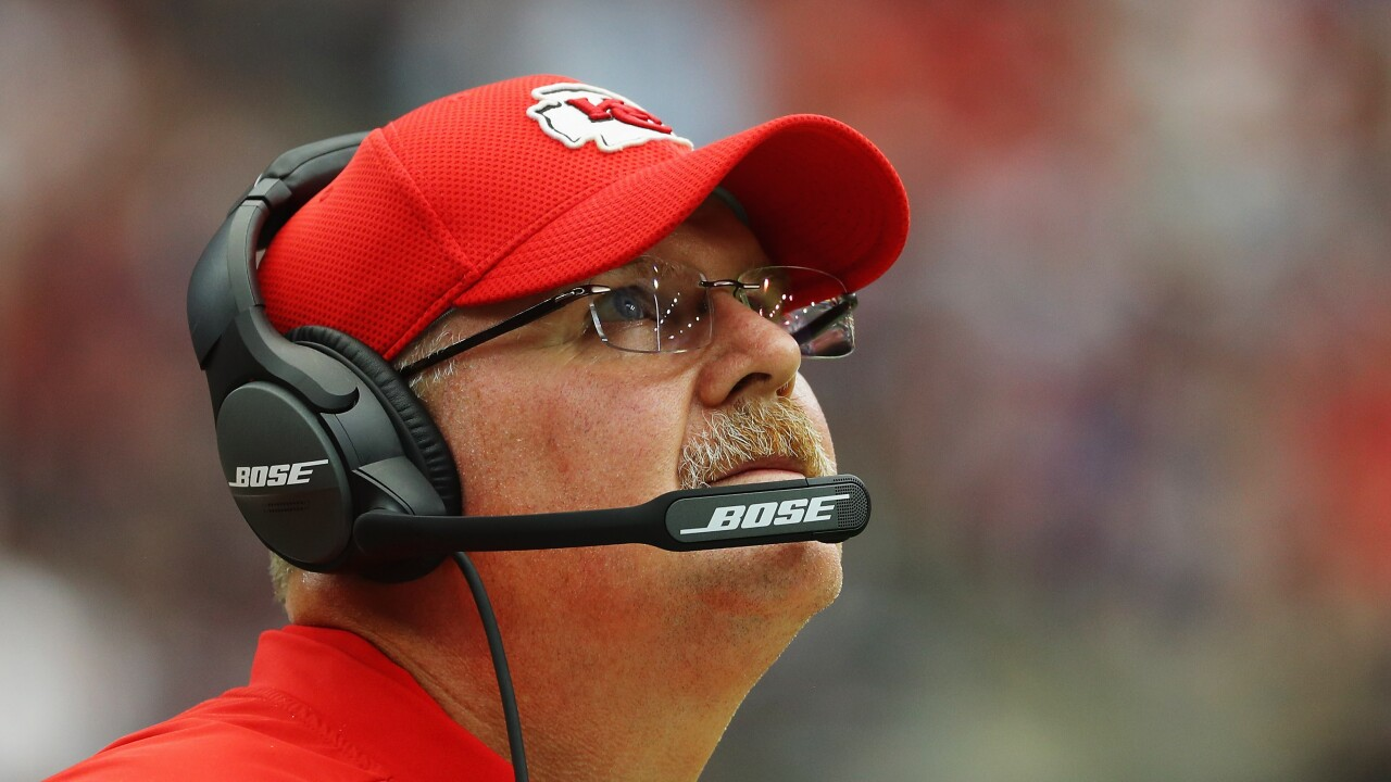 Of NFL's Final 4 coaches, Kansas City's Andy Reid is the outlier