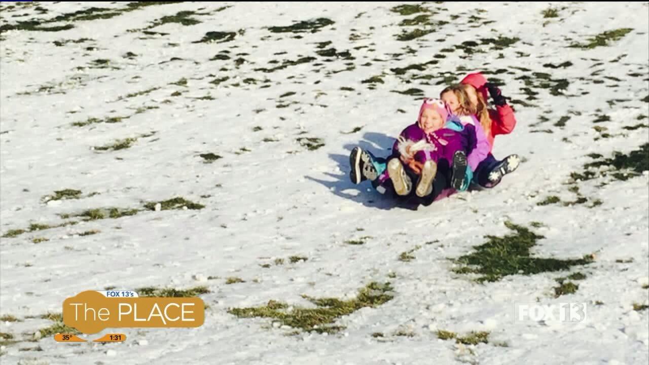 Top 5 best sledding hills inUtah