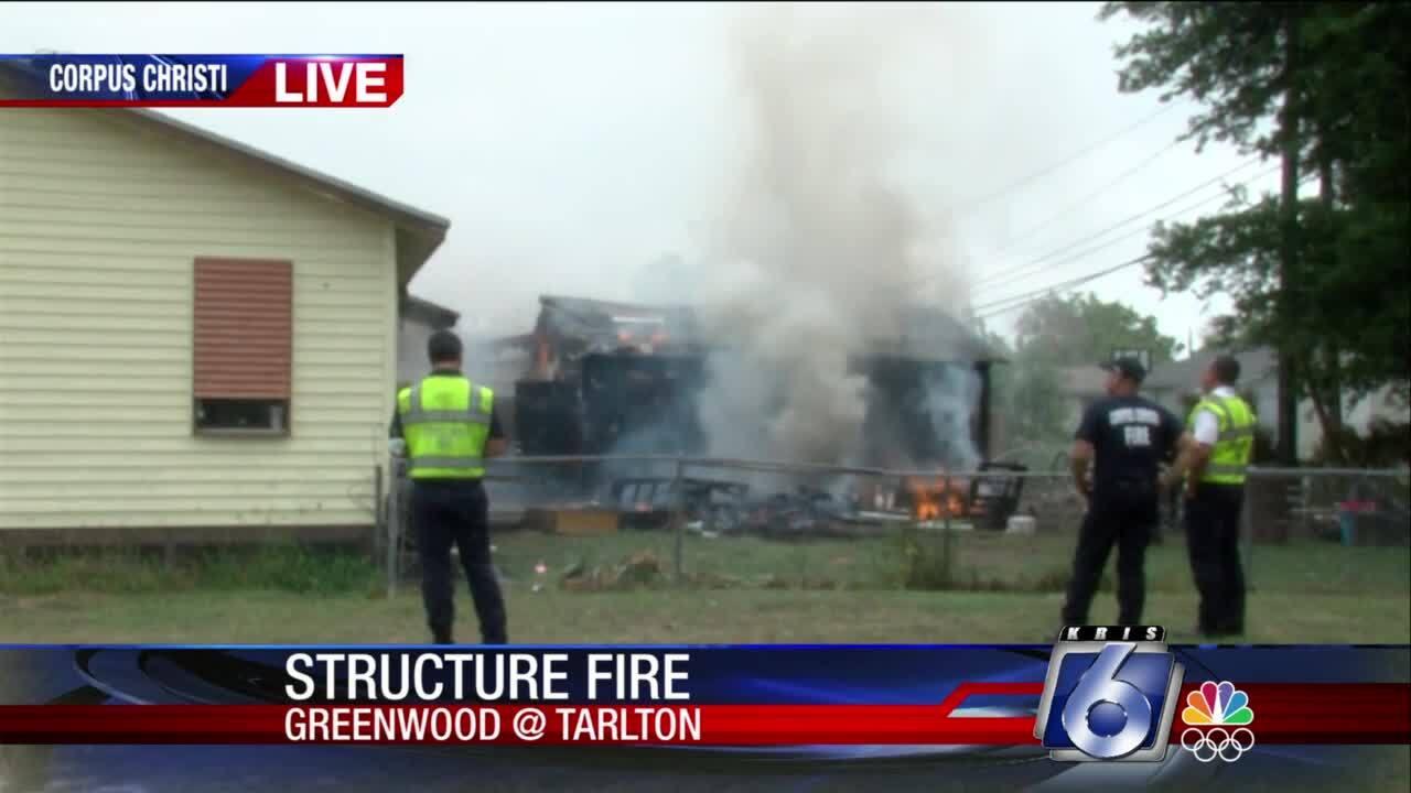 CCFD working fire in Greenwood/Tarlton area