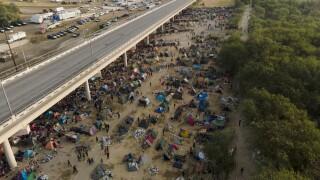 Mexico US Border Haitian migrants