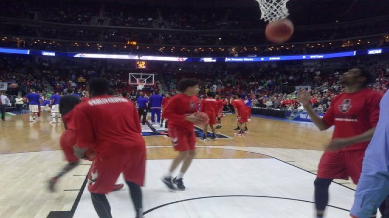 NCAA March Madness: Kansas in Des Moines