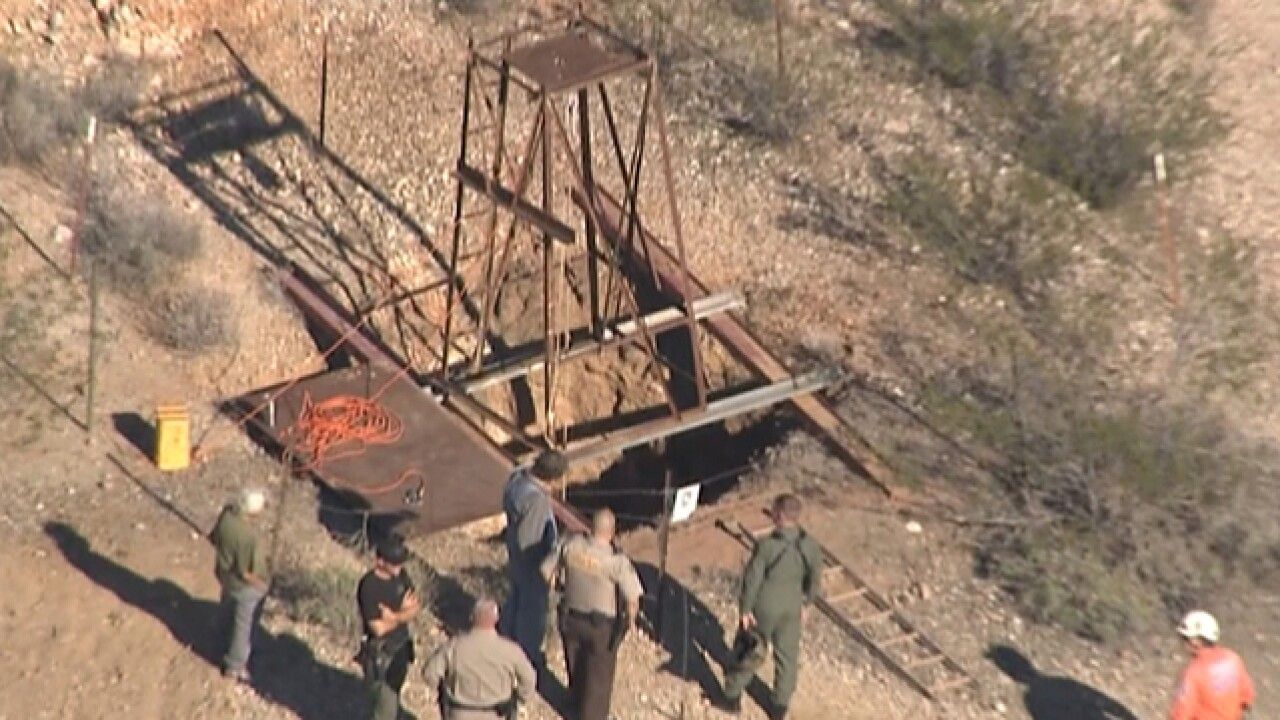 MCSO: Man trapped in western AZ mine shaft