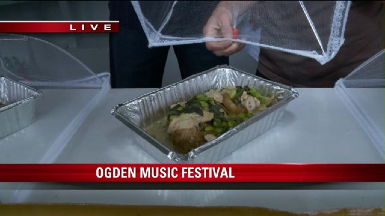 Food, music feature at Ogden festival