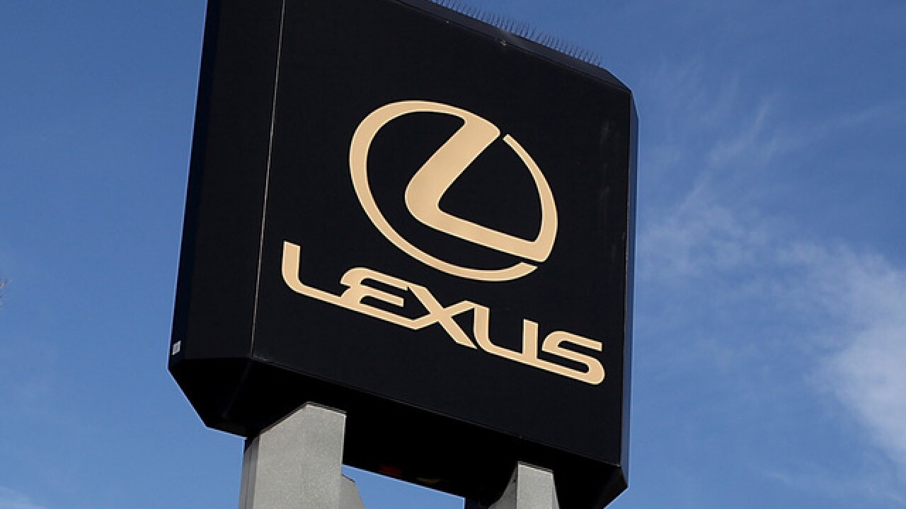 Lexus recalls cars to fix fuel leaks that can cause fires