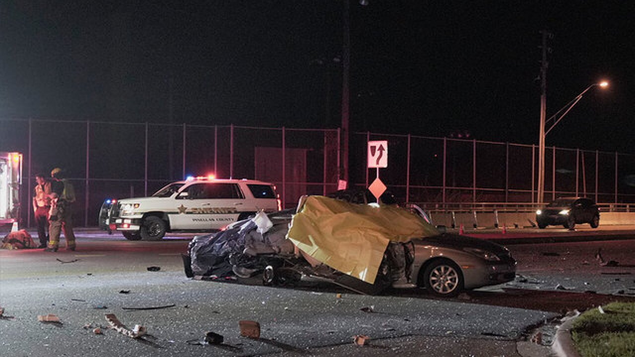 FHP searching for driver who sped off from fatal Seminole crash