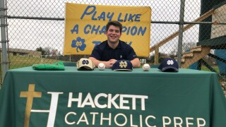 Stephen Kwapis ready to play for Notre Dame