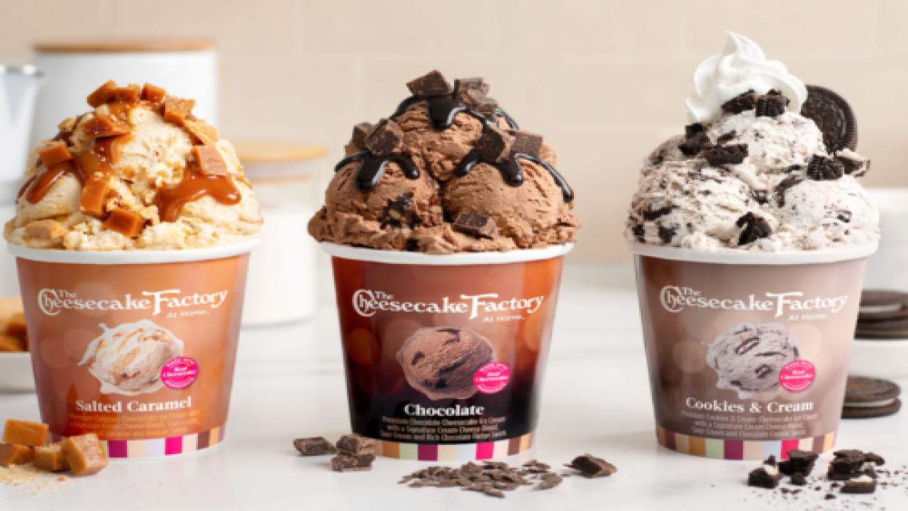 Cheesecake Factory Is Making Ice Cream In 7 Of Its Most Popular Cheesecake Flavors