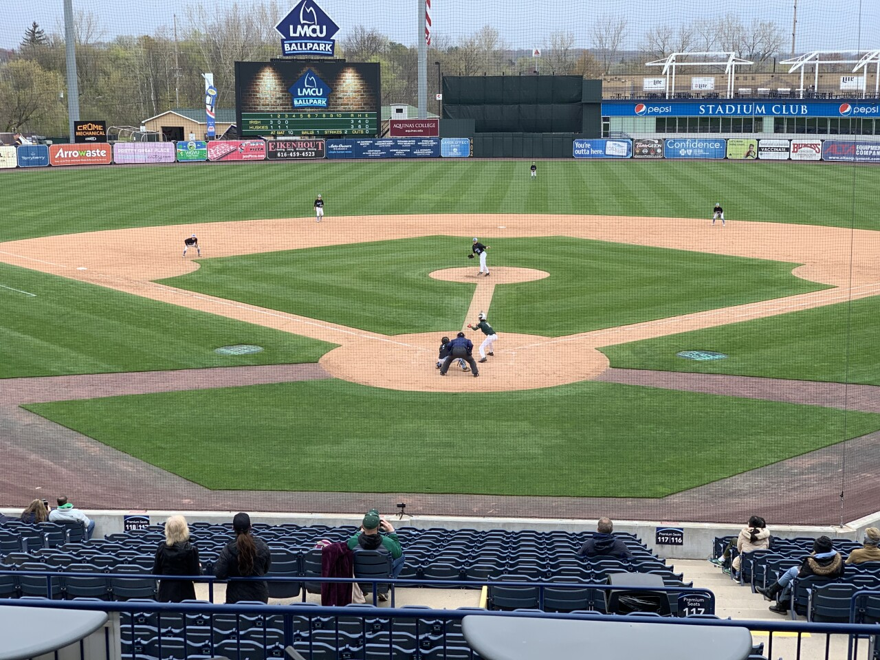 High school baseball at LMCU Ballpark