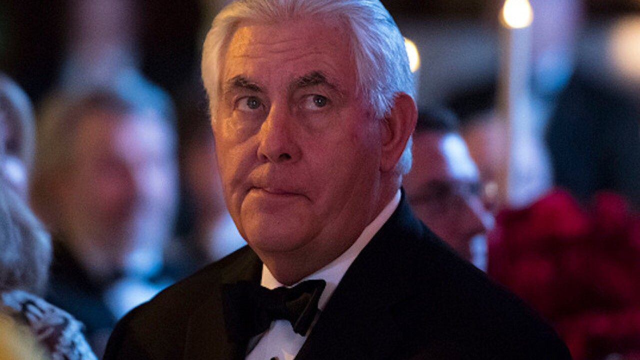 Senate confirms Rex Tillerson as Secretary of State