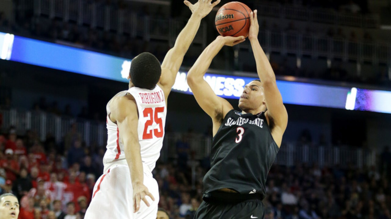 Aztecs eliminated from NCAA Tournament after 67-65 loss to Houston