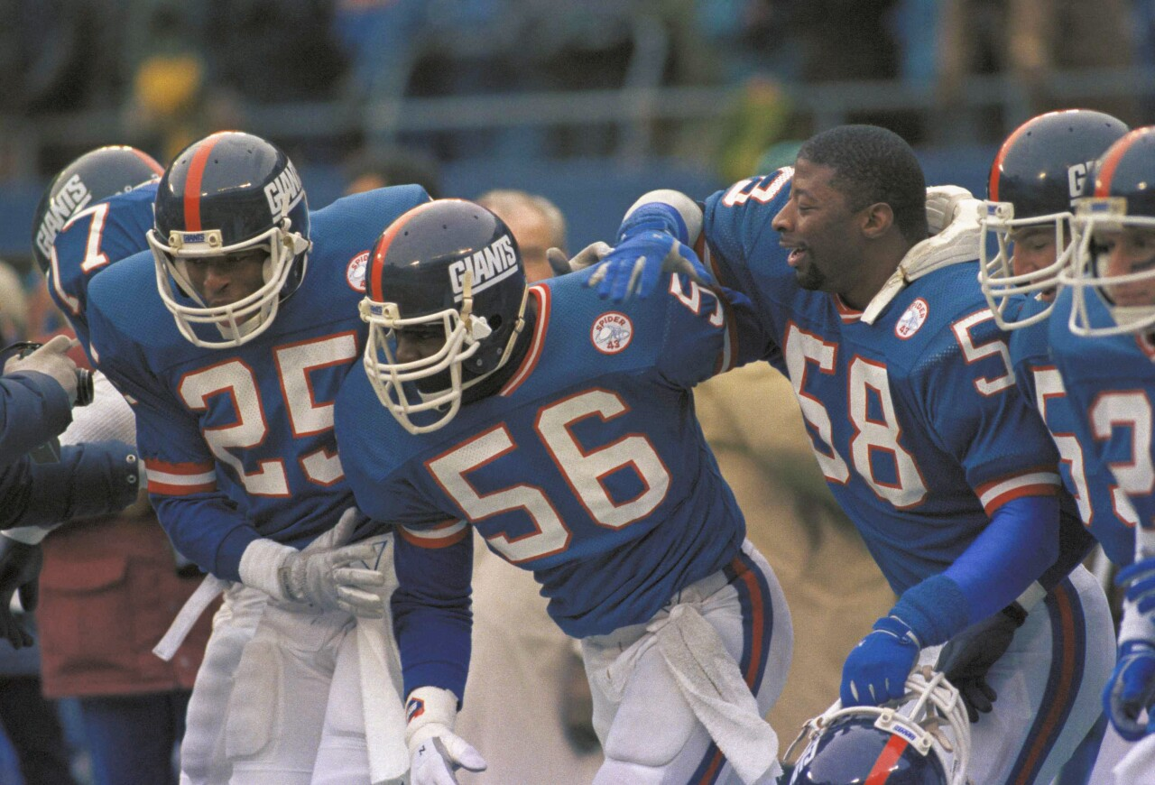 Lawrence Taylor, New York Giants in January 1986