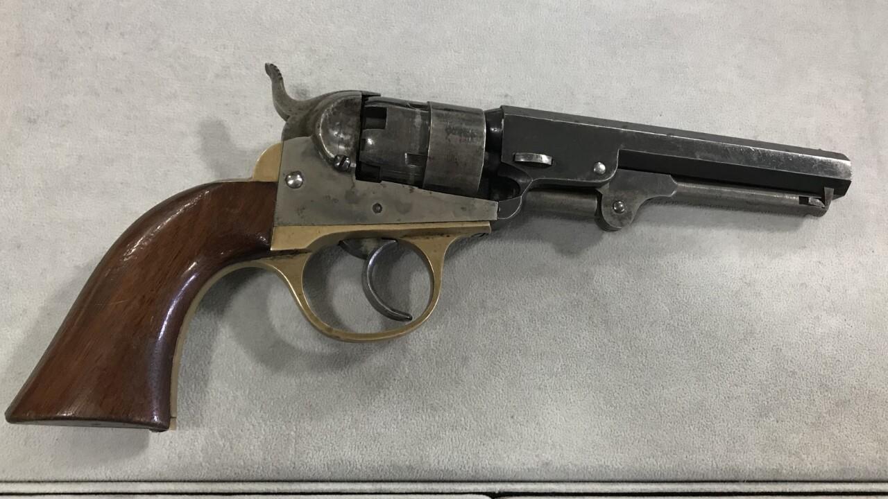 Civil War-era revolver up for auction in Billings