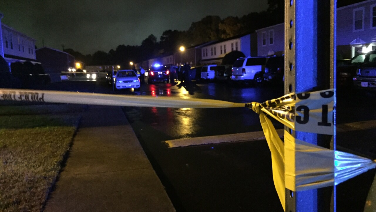 Person found shot on Richmond's Southside
