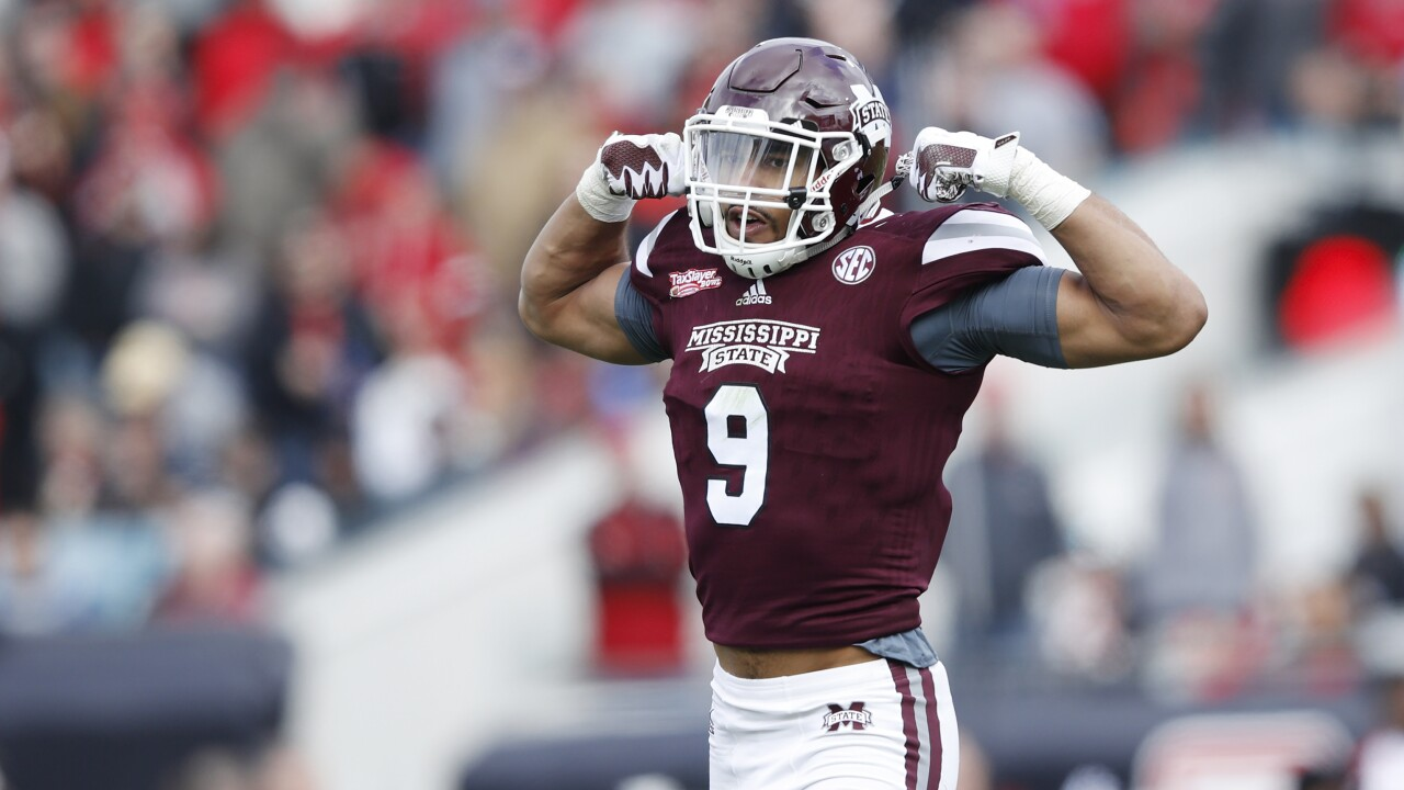 Sweat equity: Redskins swap picks, trade up into first round to select Montez Sweat