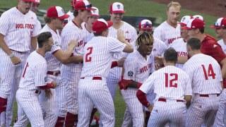 CWS Vanderbilt NC State Baseball