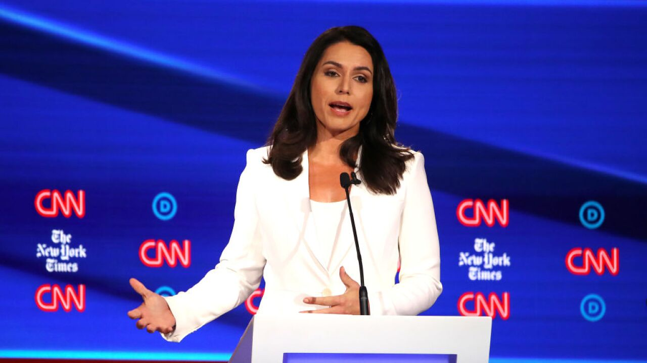Hawaii Rep. Tulsi Gabbard won't seek reelection to Congress in 2020 as she pursues Democratic presidential nomination
