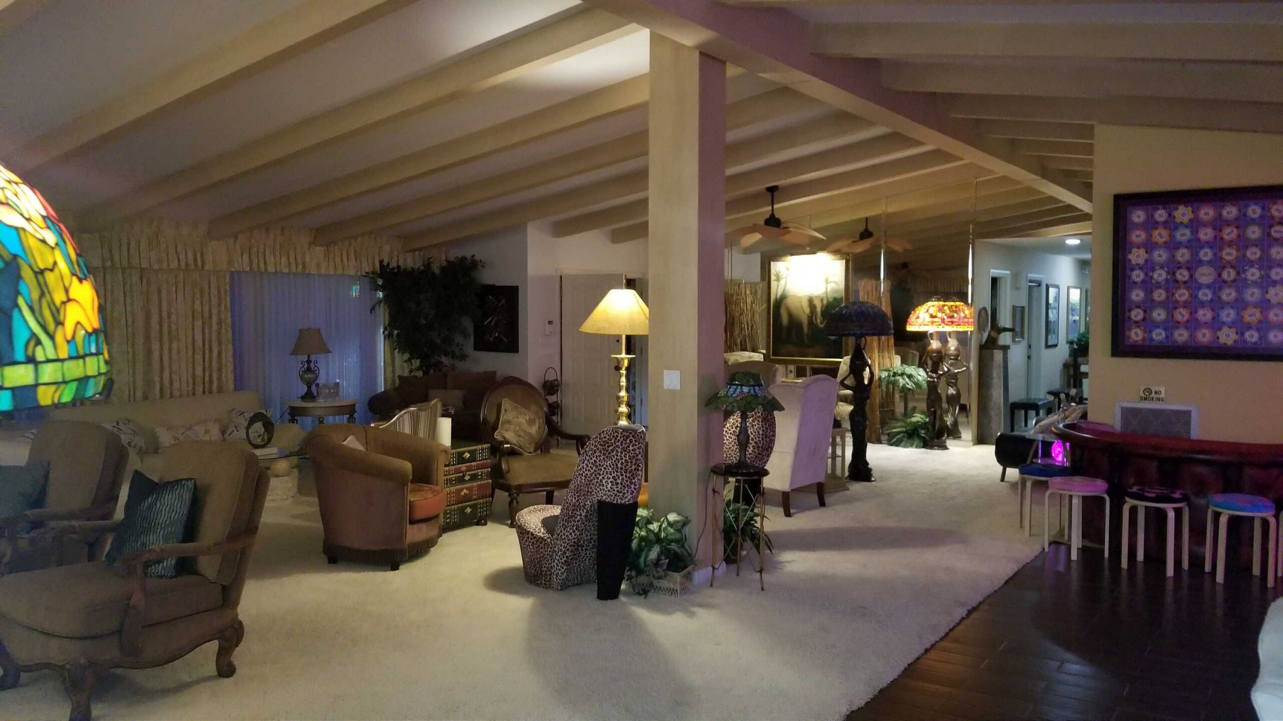 PHOTOS: 1960s bomb shelter house on sale for $18 million in Las Vegas