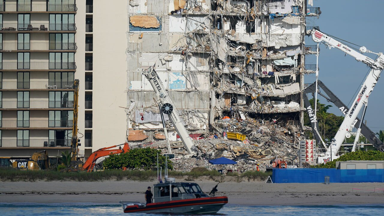 Surfside condo collapse, July 1, 2021